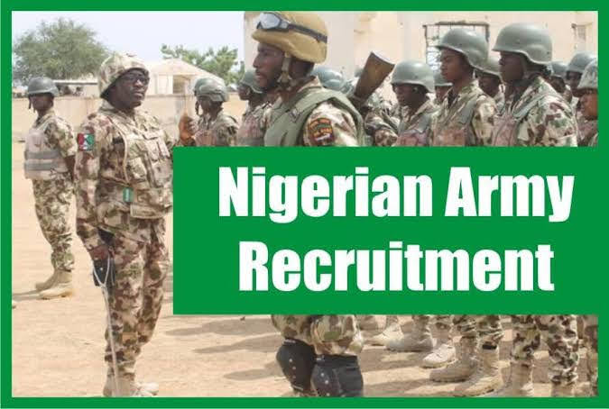 Requirements For The Nigerian Army Recruitment