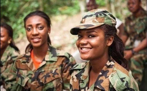 Nigerian Army shortlisted names