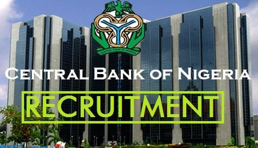 CBN Recruitment 2020/2021 Application Form Portal