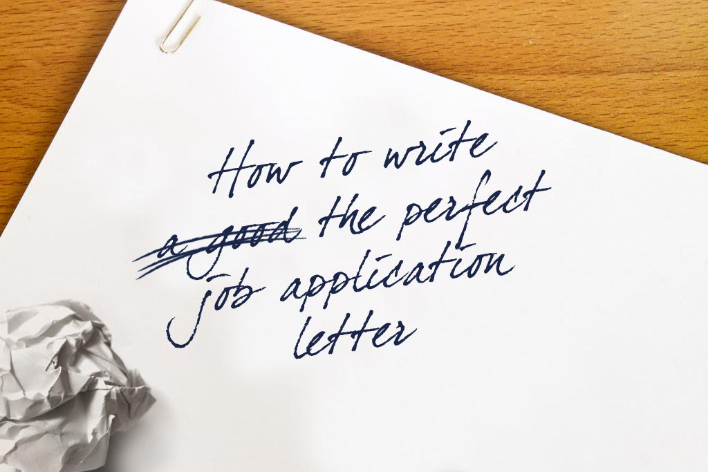 How to Write an Application Letter for a Job