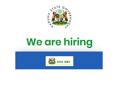 Kaduna State Health Service Recruitment