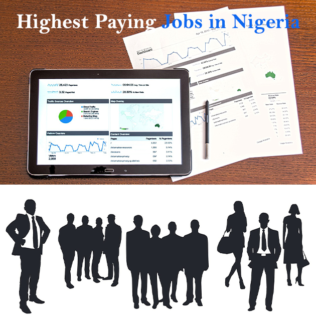 Highest Paying Jobs In Nigeria and their salaries