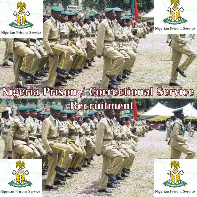 Nigerian Correctional Service Recruitment