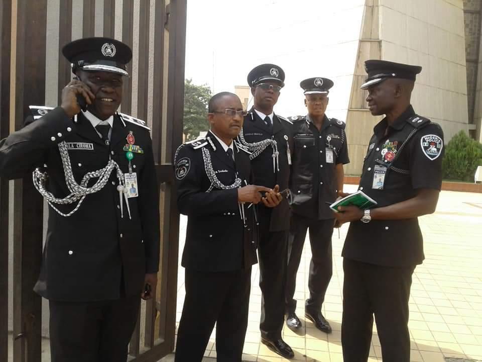 Nigeria Police Medical Screening List
